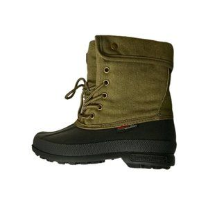 NWOT: Canadiana Boys Army Green Boots